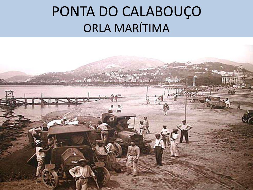 PONTA DO CALABOUÇO ORLA MARÍTIMA