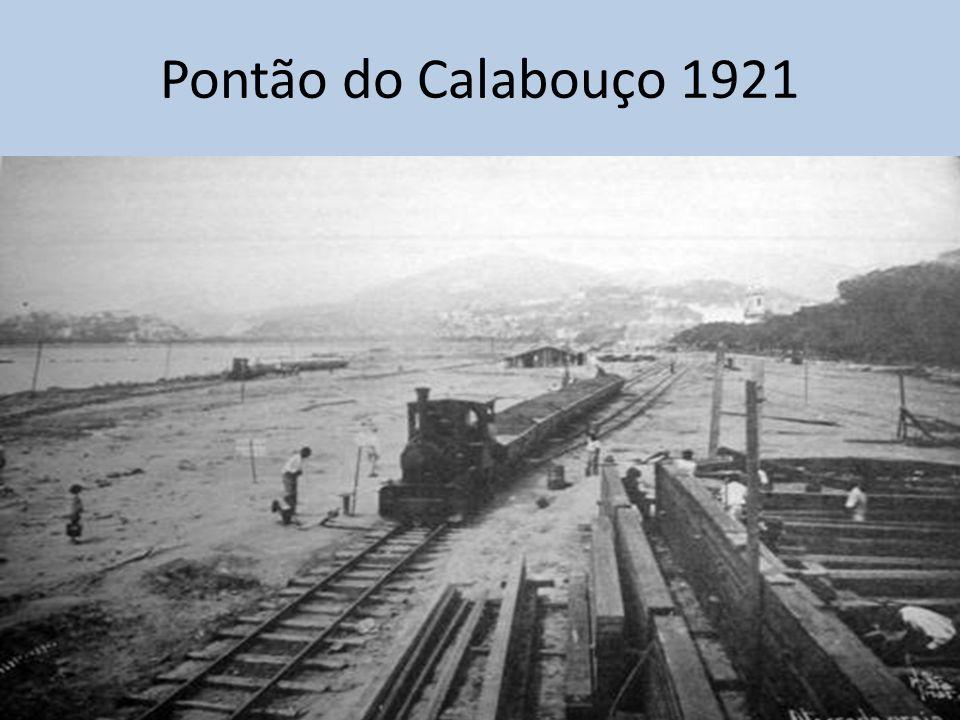 Pontão do Calabouço 1921