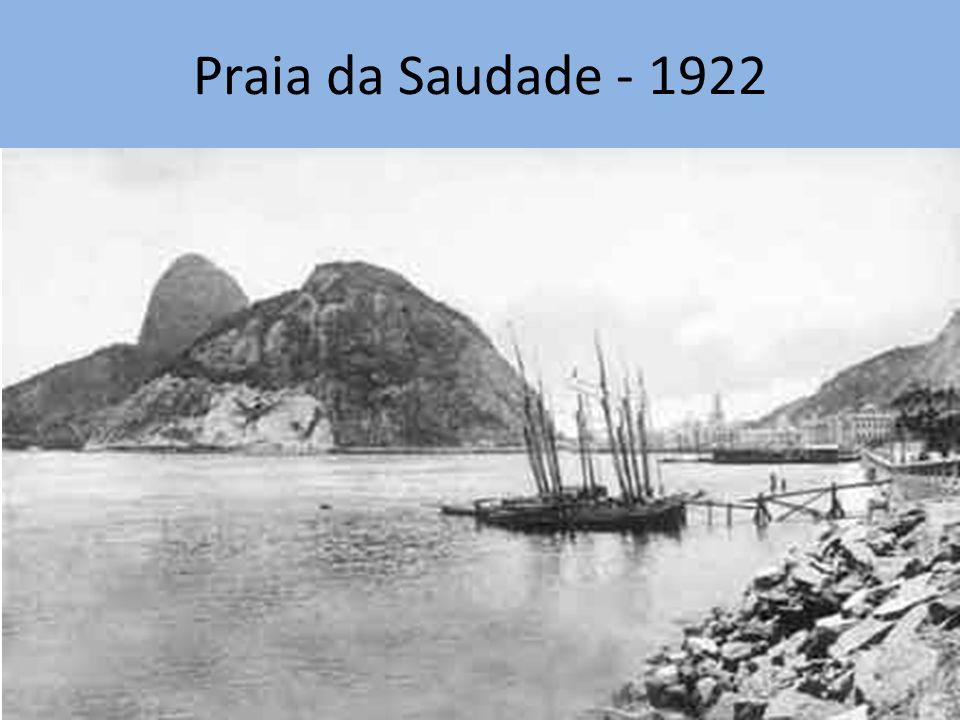 Praia da Saudade - 1922