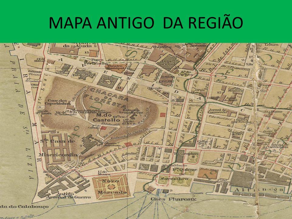 MAPA ANTIGO DA REGIÃO