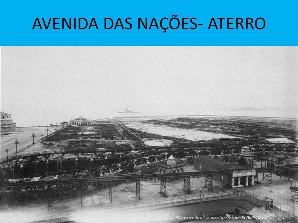 AVENIDA DAS NAÇÕES- ATERRO