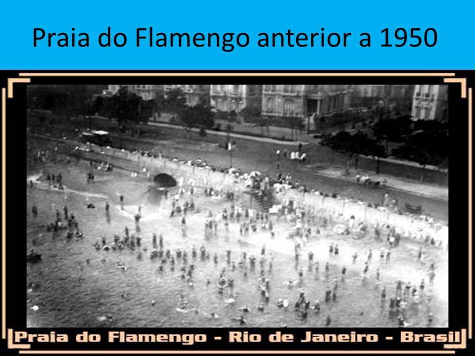 Praia do Flamengo anterior a 1950