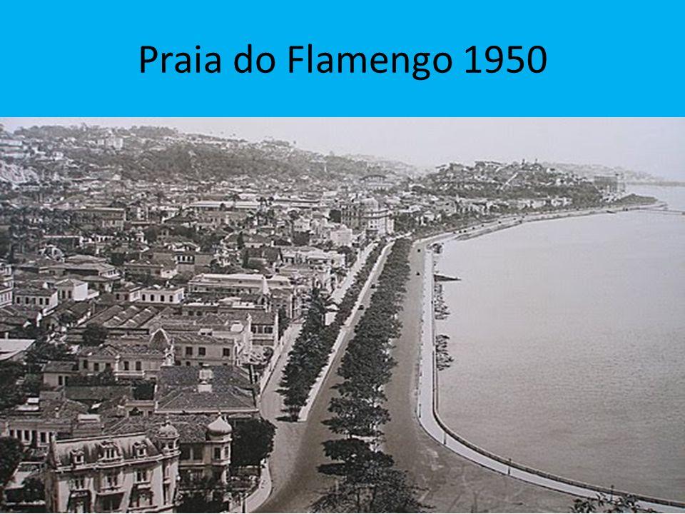 Praia do Flamengo 1950