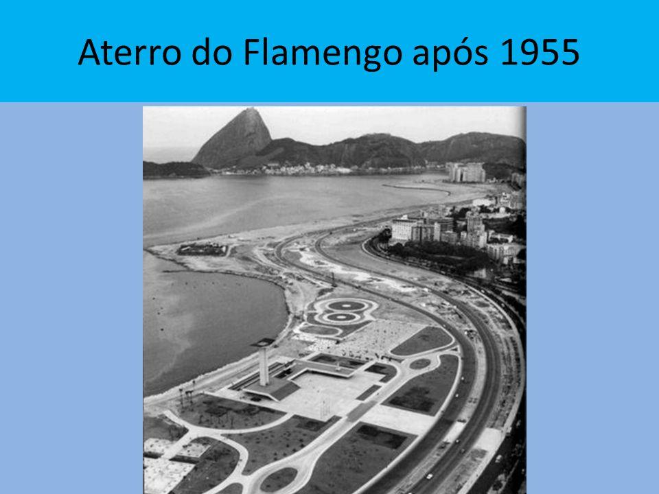 Aterro do Flamengo após 1955