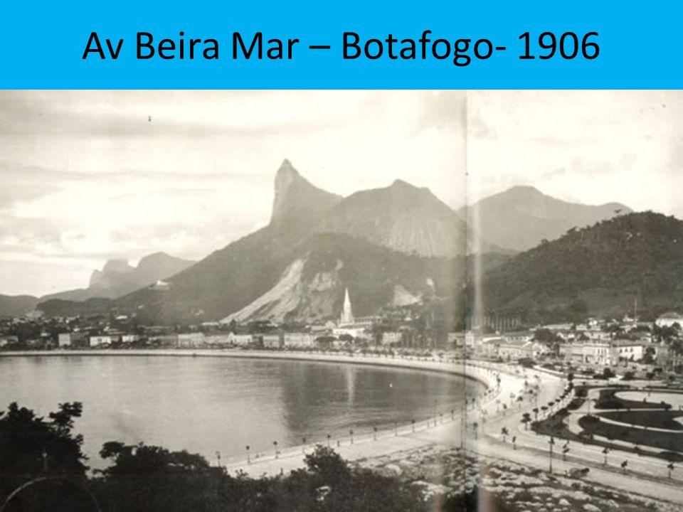 Av Beira Mar – Botafogo- 1906