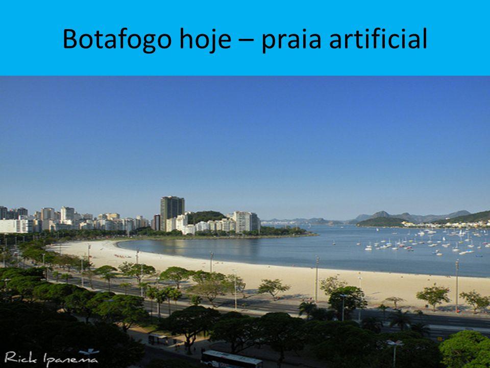Botafogo hoje – praia artificial