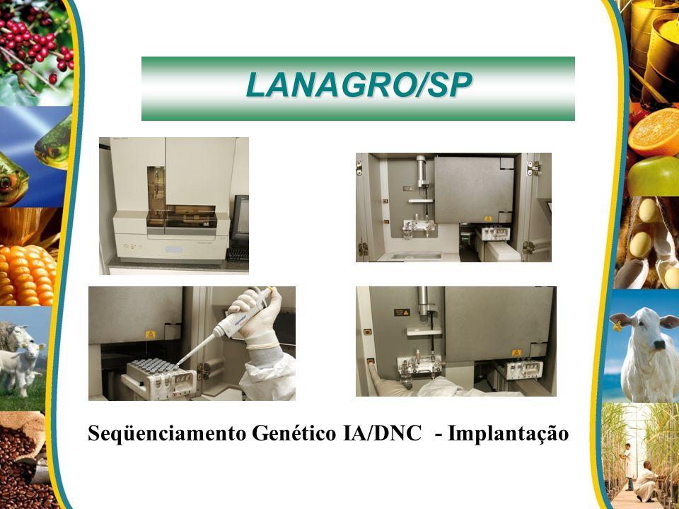 Seqüenciamento Genético IA/DNC - Implantação