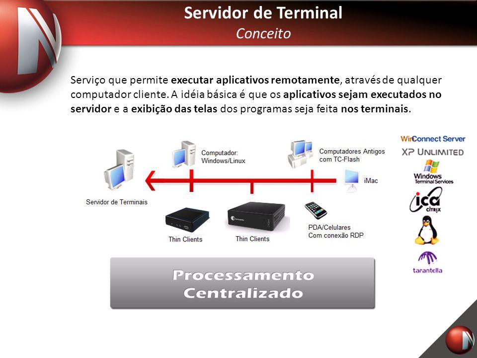 Servidor de Terminal Conceito