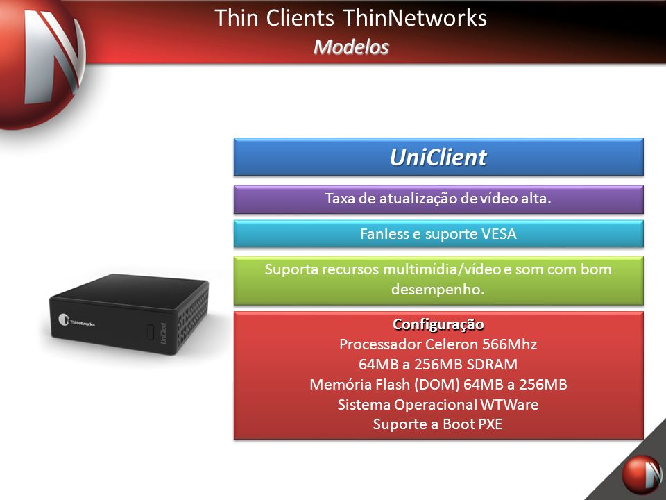 Thin Clients ThinNetworks