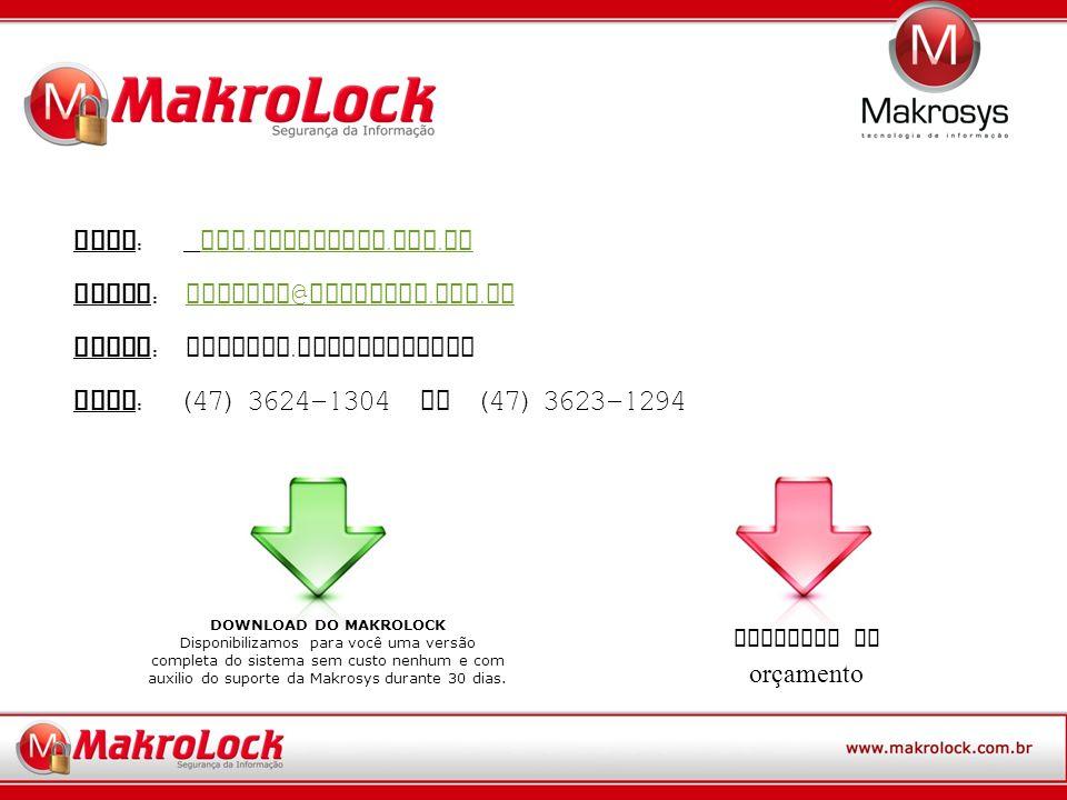 Site: www.makrolock.com.br