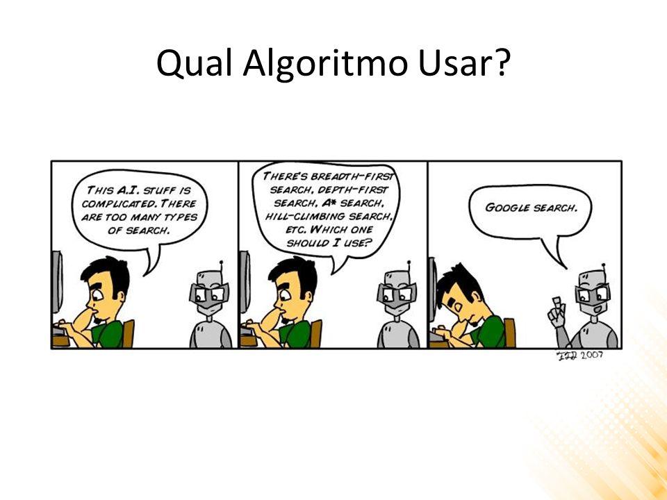Qual Algoritmo Usar