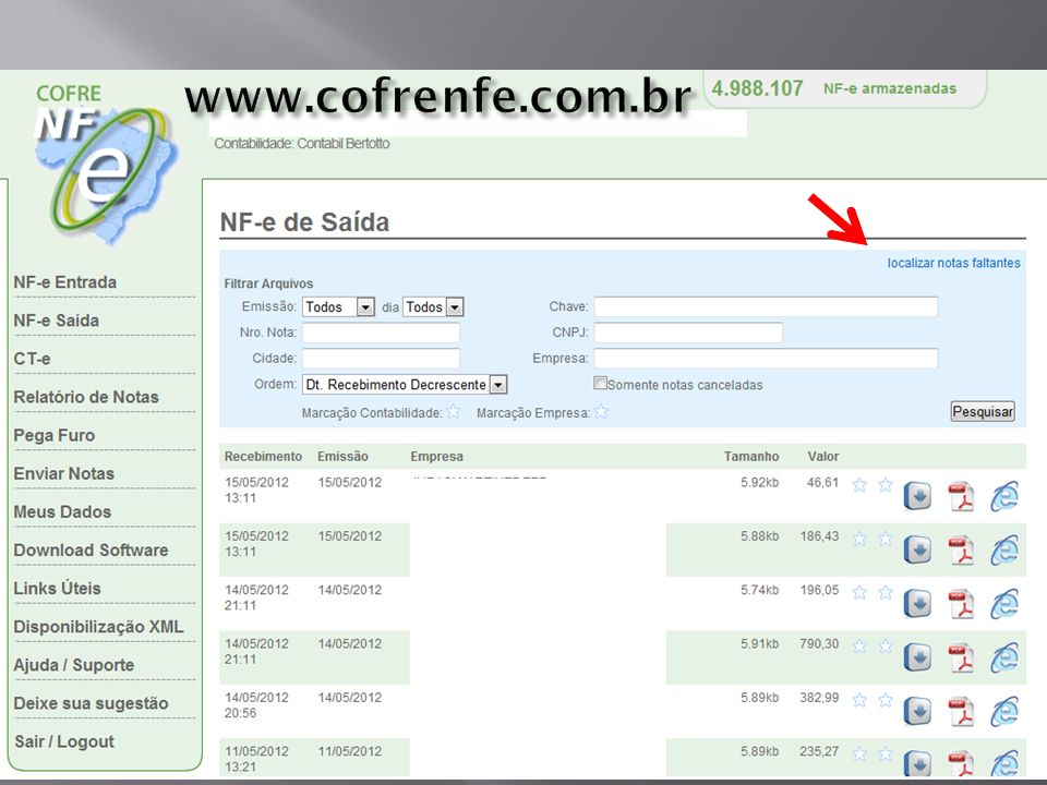www.cofrenfe.com.br