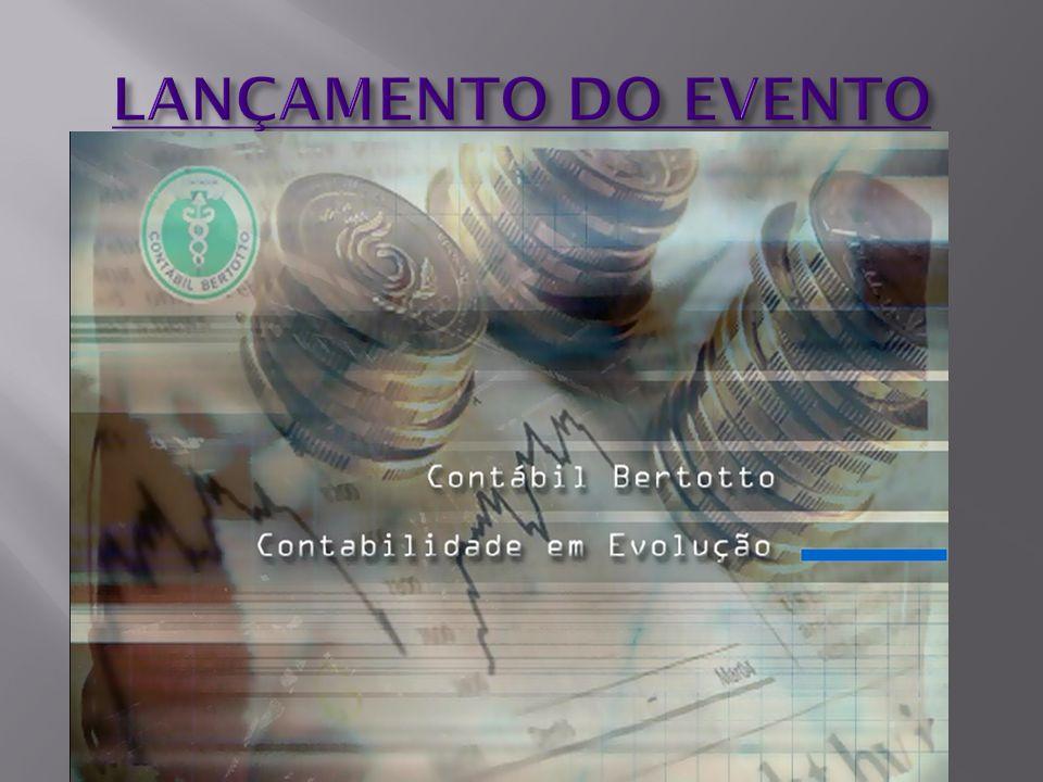 LANÇAMENTO DO EVENTO