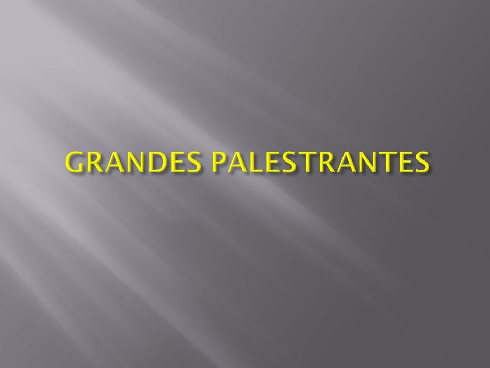 GRANDES PALESTRANTES