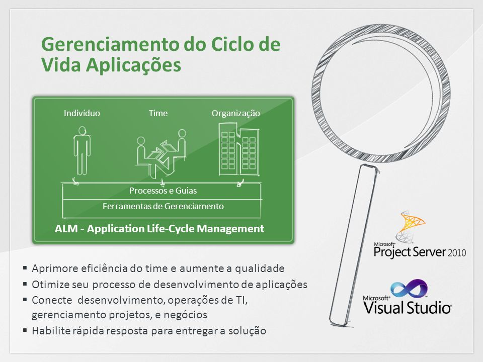 ALM - Application Life-Cycle Management
