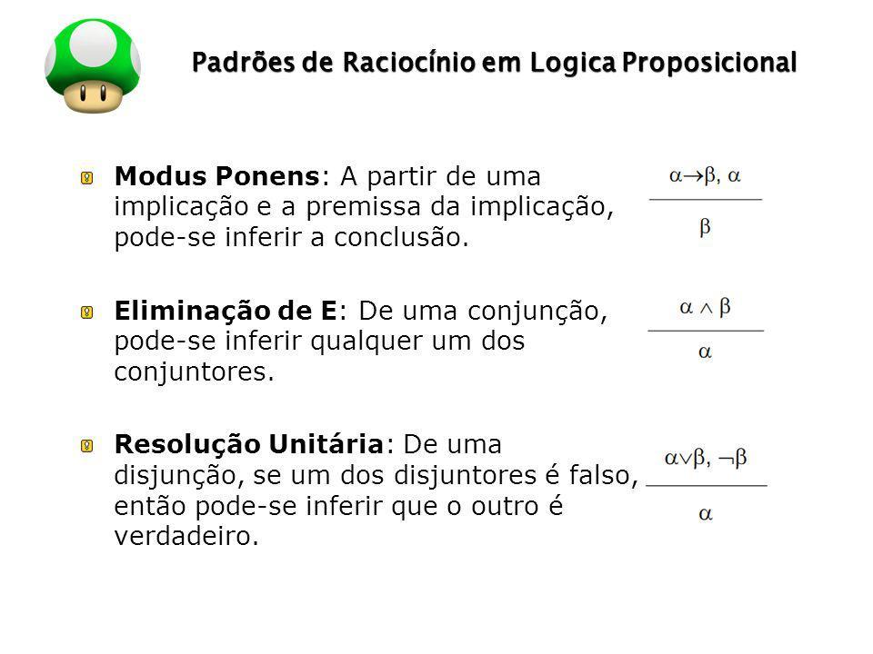Padrões de Raciocínio em Logica Proposicional