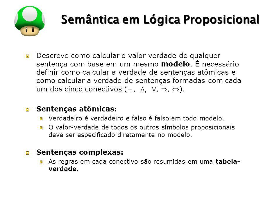 Semântica em Lógica Proposicional
