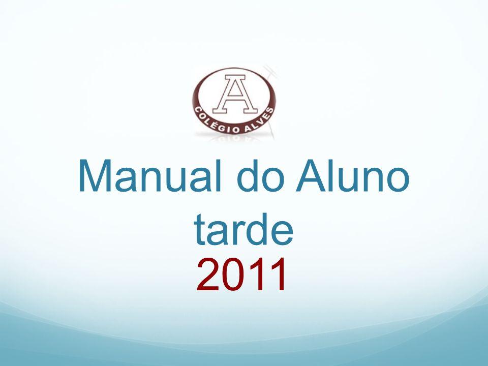 Manual do Aluno tarde 2011