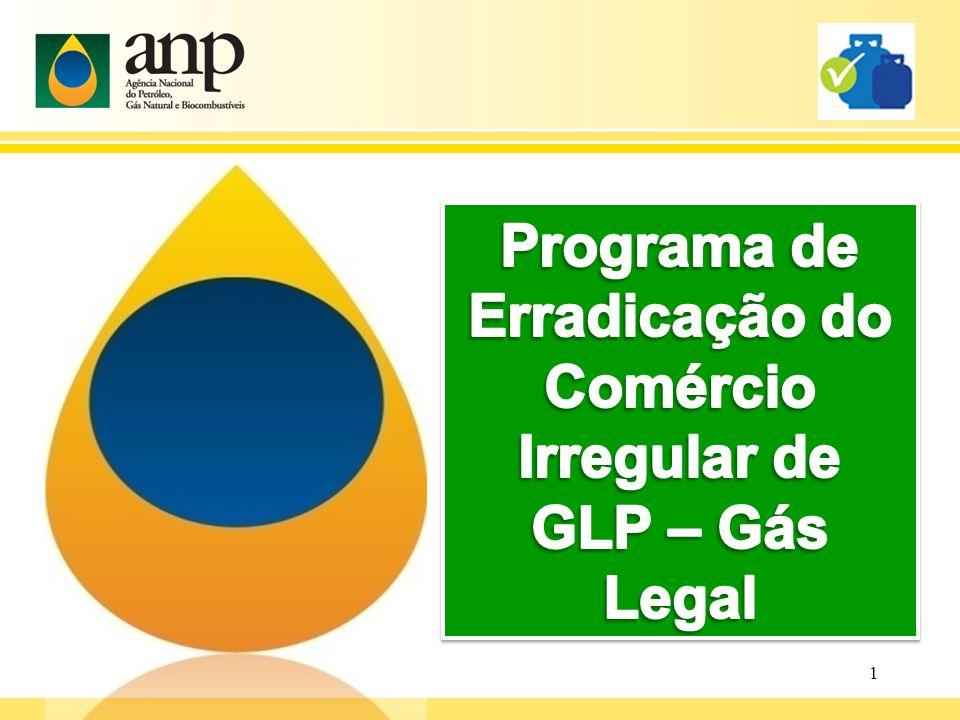 Programa de Erradicação do Comércio Irregular de GLP – Gás Legal