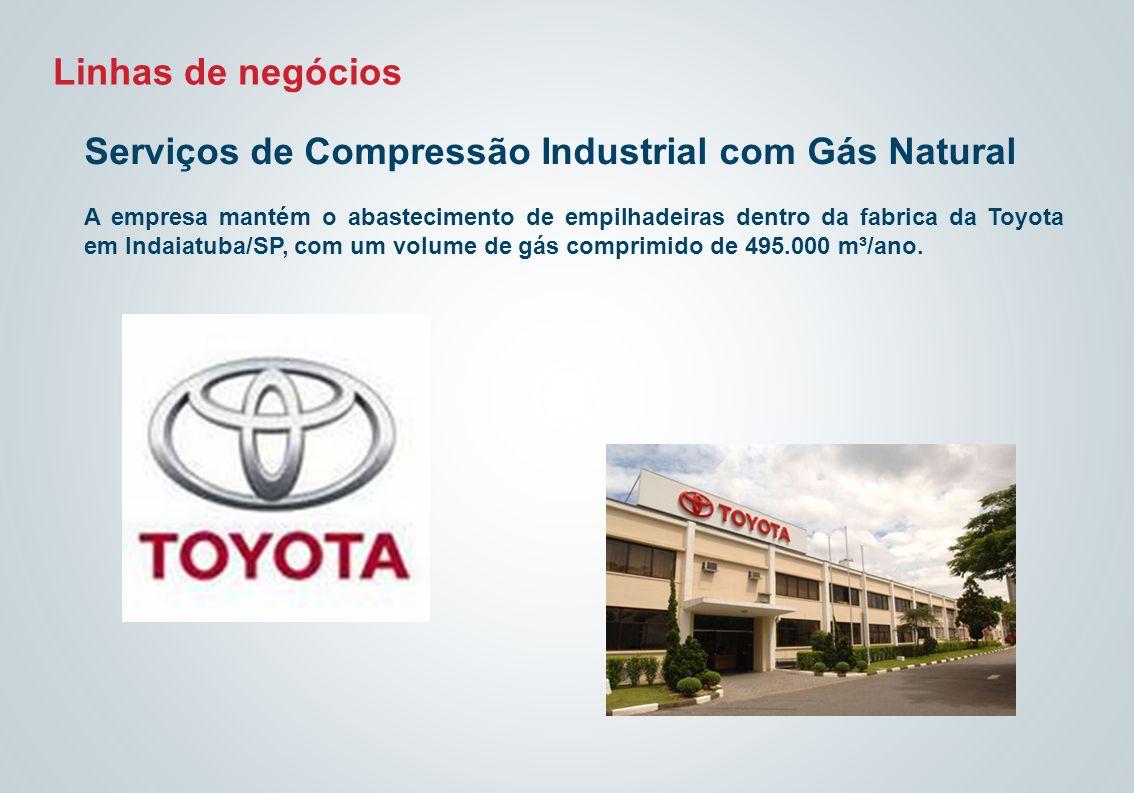 Serviços de Compressão Industrial com Gás Natural