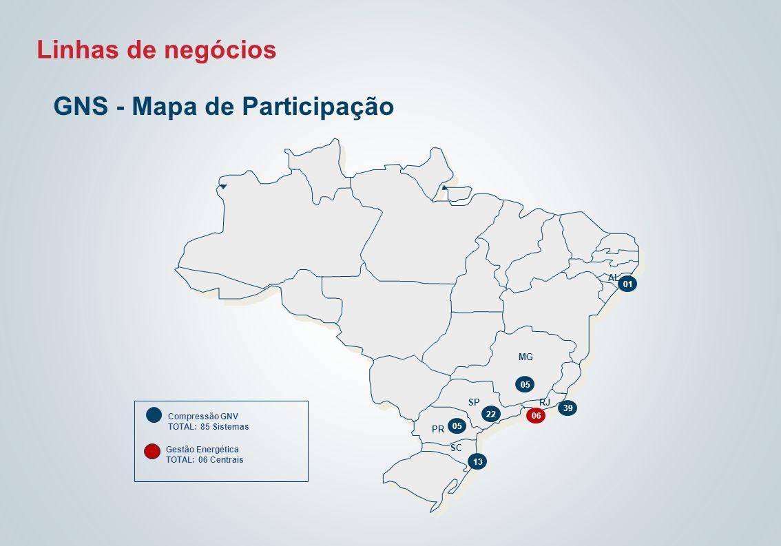 GNS - Mapa de Participação