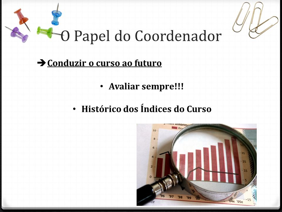 Histórico dos Índices do Curso