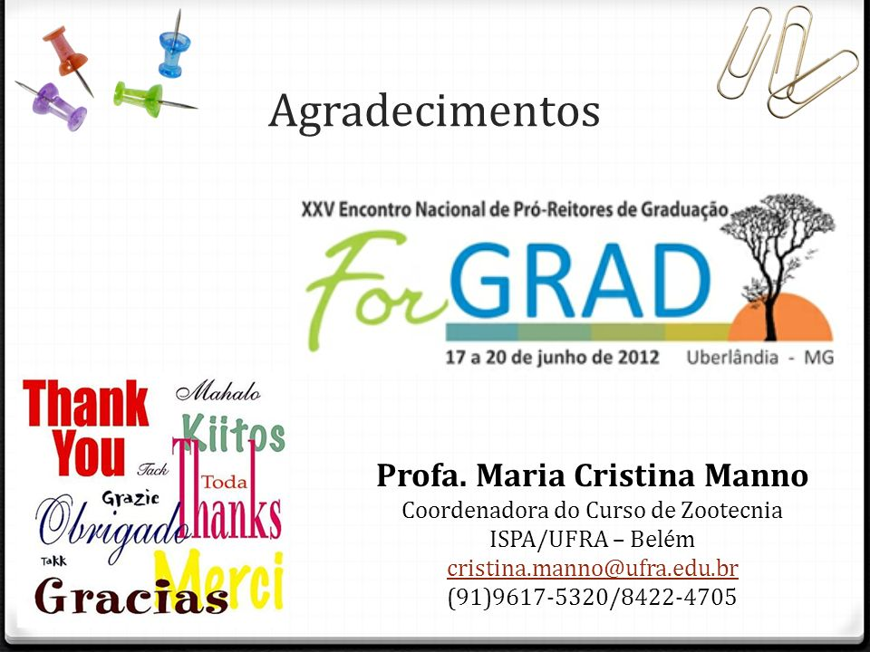 Profa. Maria Cristina Manno