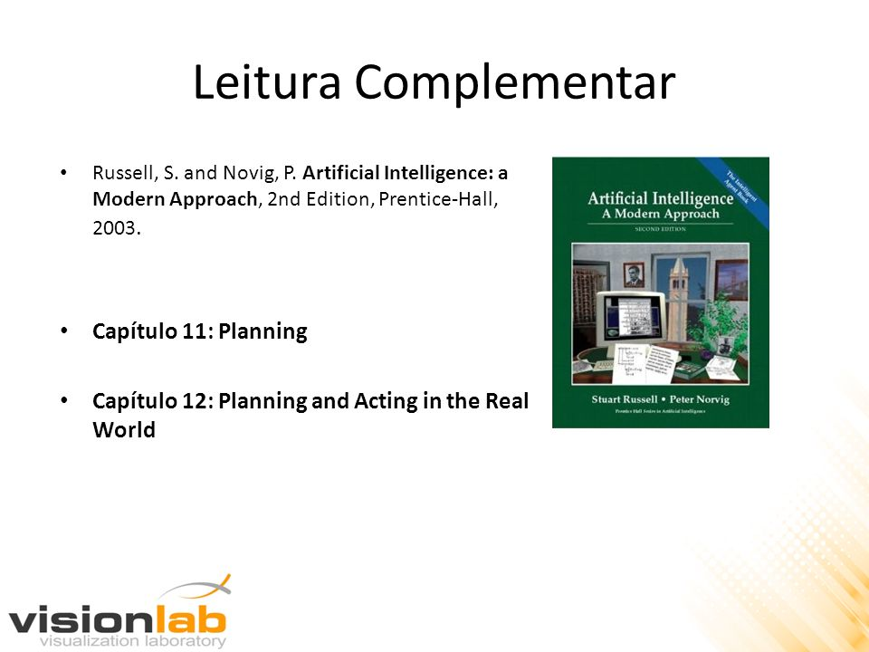 Leitura Complementar Capítulo 11: Planning