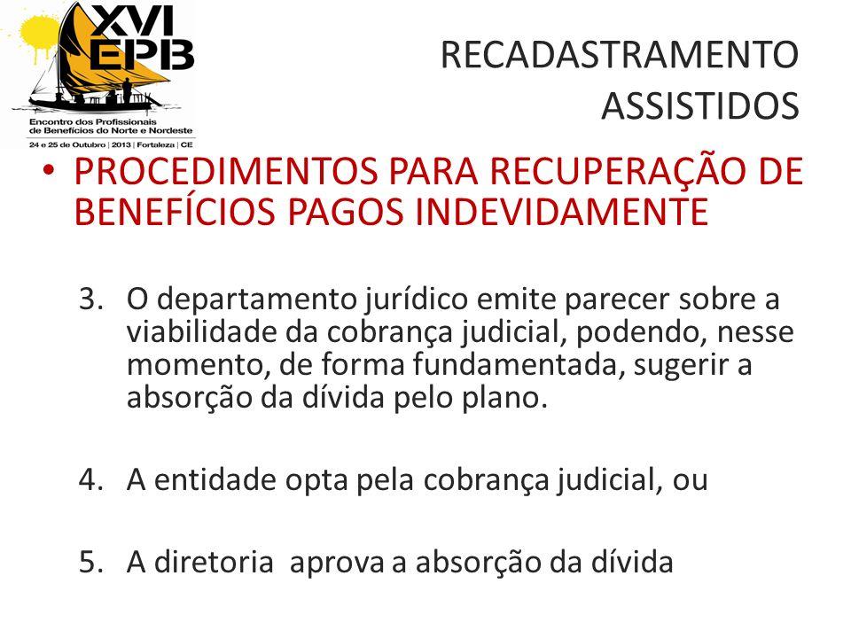 RECADASTRAMENTO ASSISTIDOS
