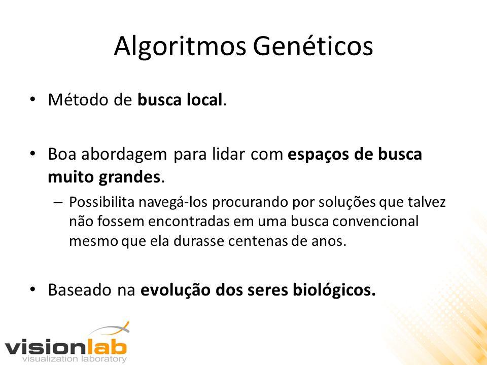 Algoritmos Genéticos Método de busca local.