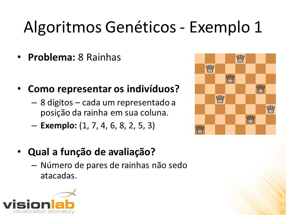 Algoritmos Genéticos - Exemplo 1