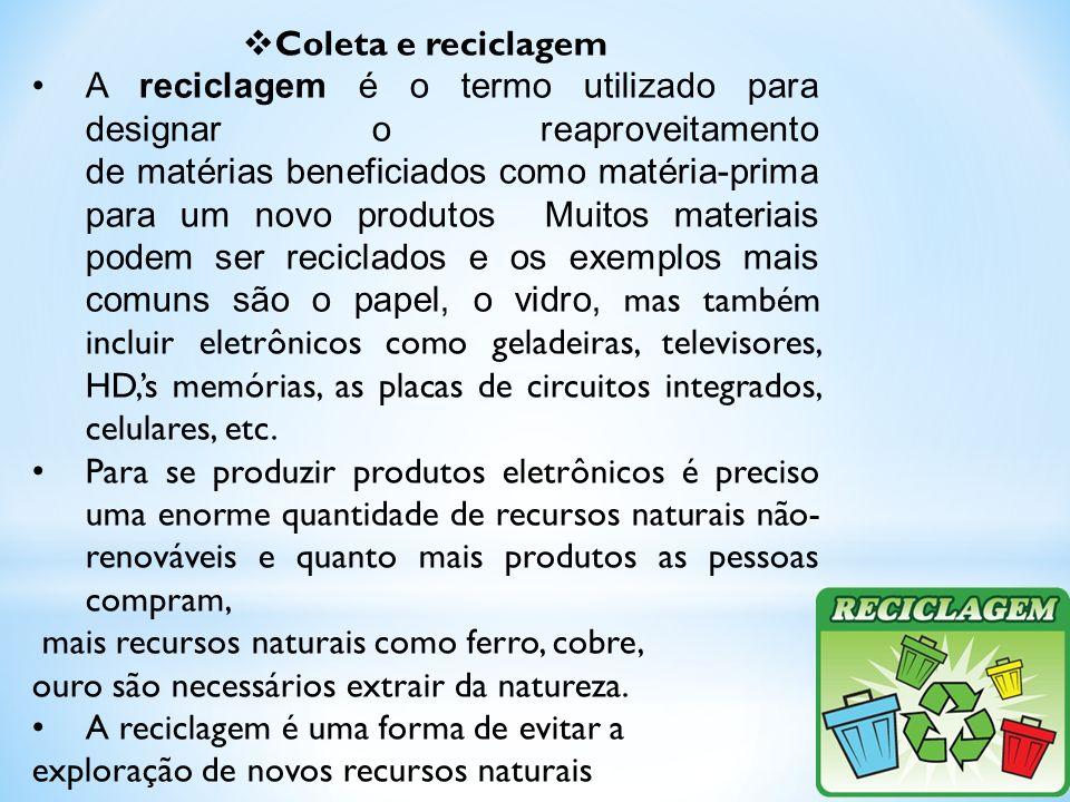 Coleta e reciclagem