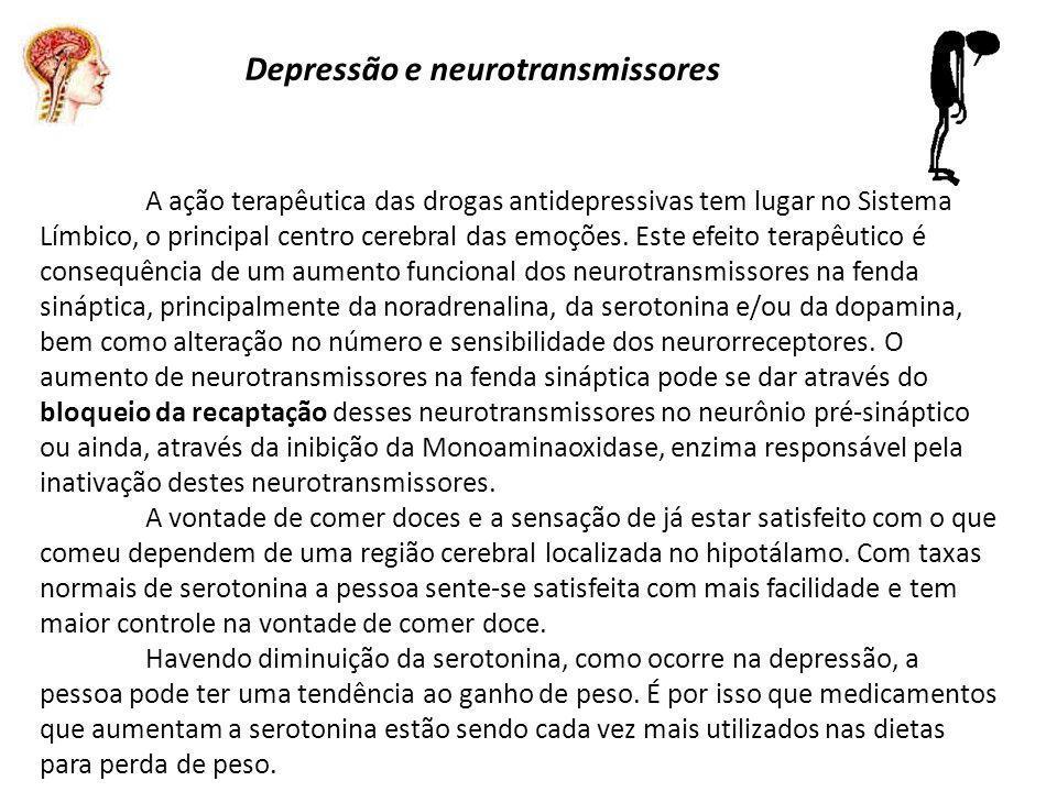 Depressão e neurotransmissores