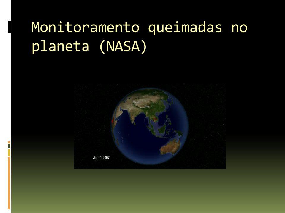 Monitoramento queimadas no planeta (NASA)