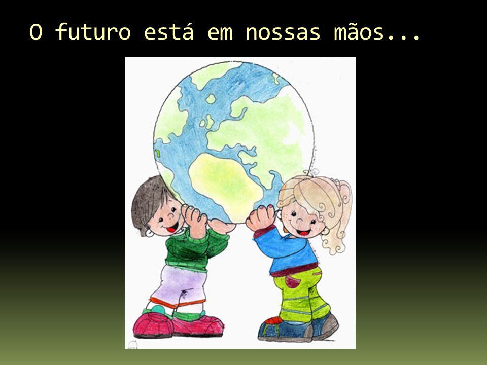 O futuro está em nossas mãos...