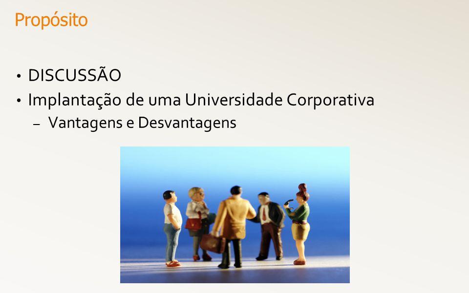 Implantação de uma Universidade Corporativa