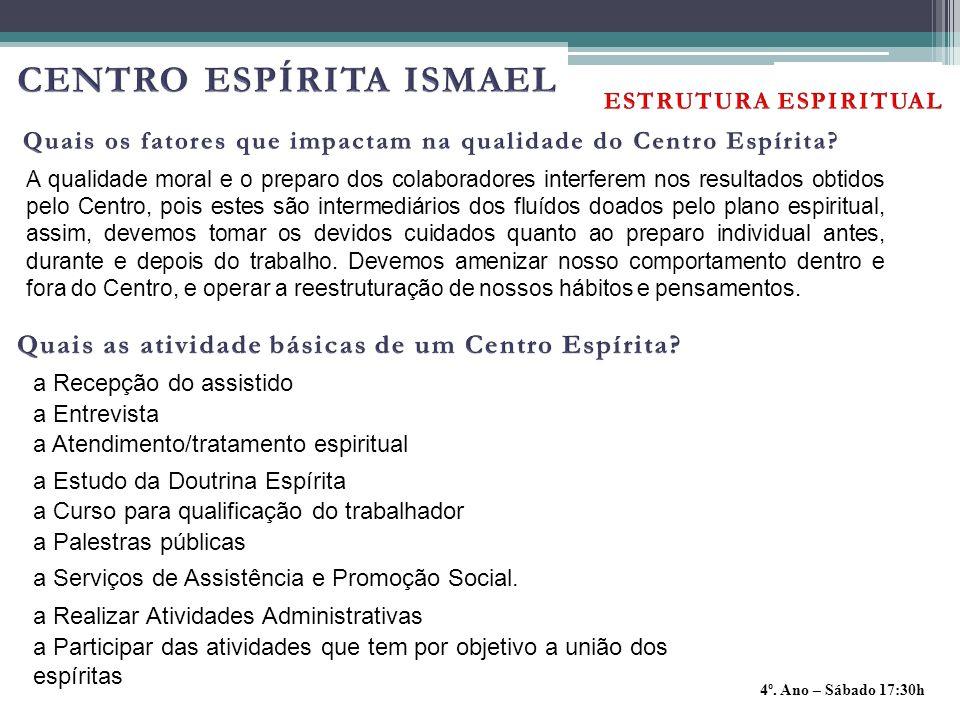 CENTRO ESPÍRITA ISMAEL