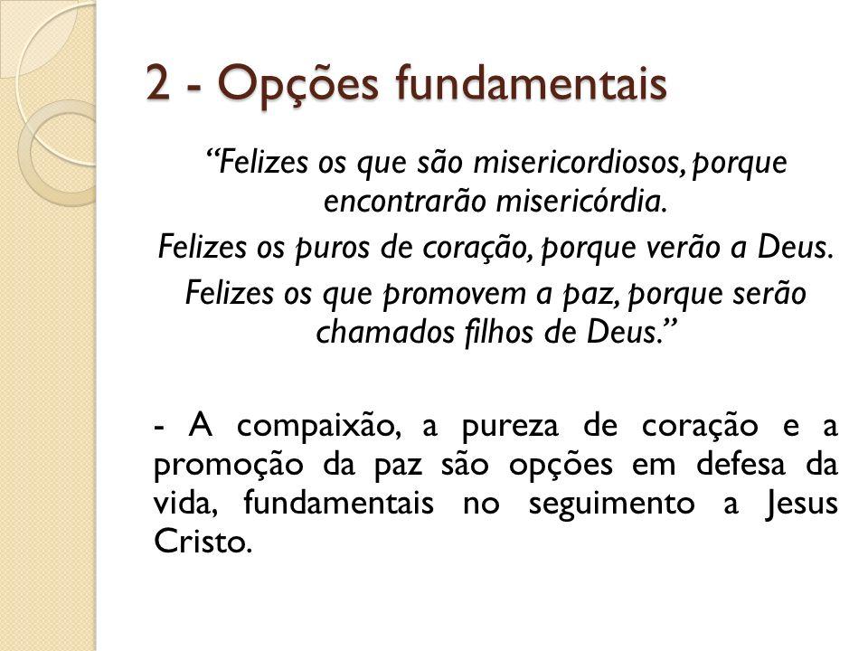 2 - Opções fundamentais