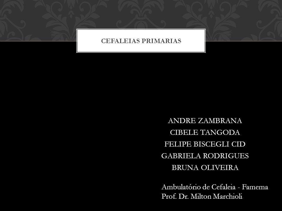 Ambulatório de Cefaleia - Famema Prof. Dr. Milton Marchioli