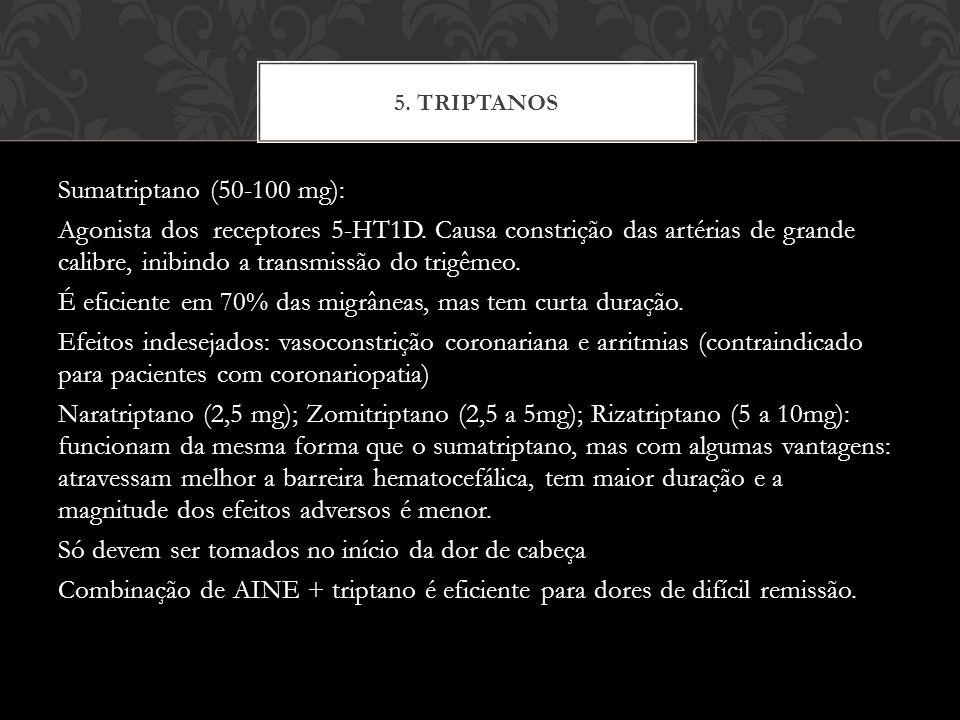 5. Triptanos