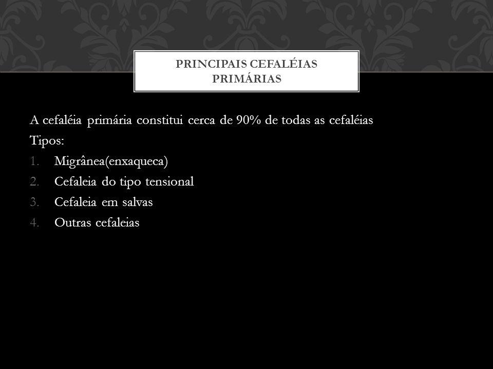 Principais cefaléias primárias