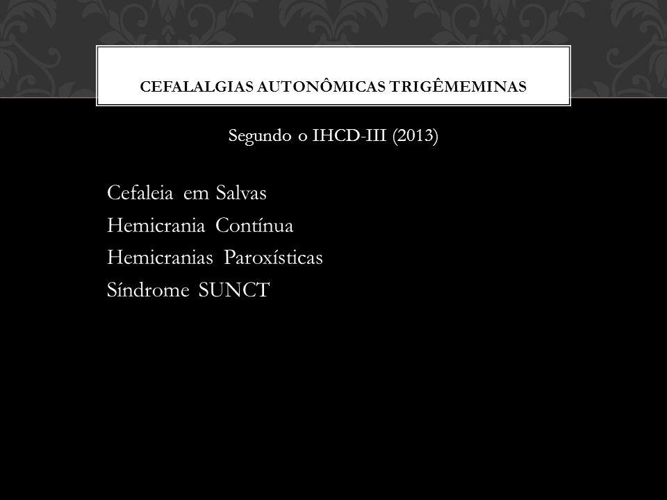 Cefalalgias autonÔmicas trigêmeMINas