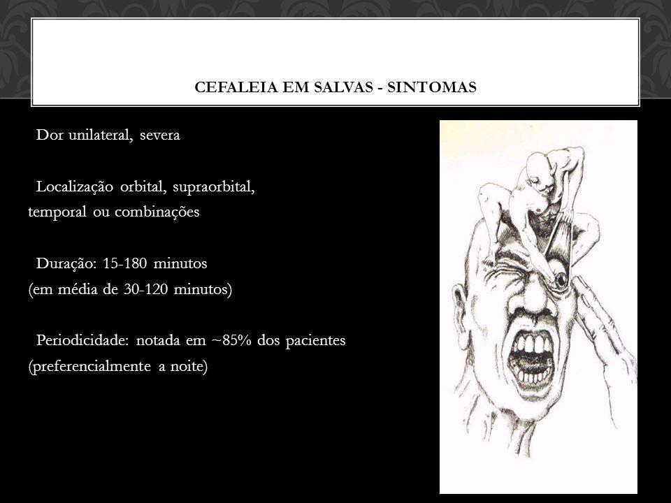 CEFALEIA EM SALVAS - SINTOMAS