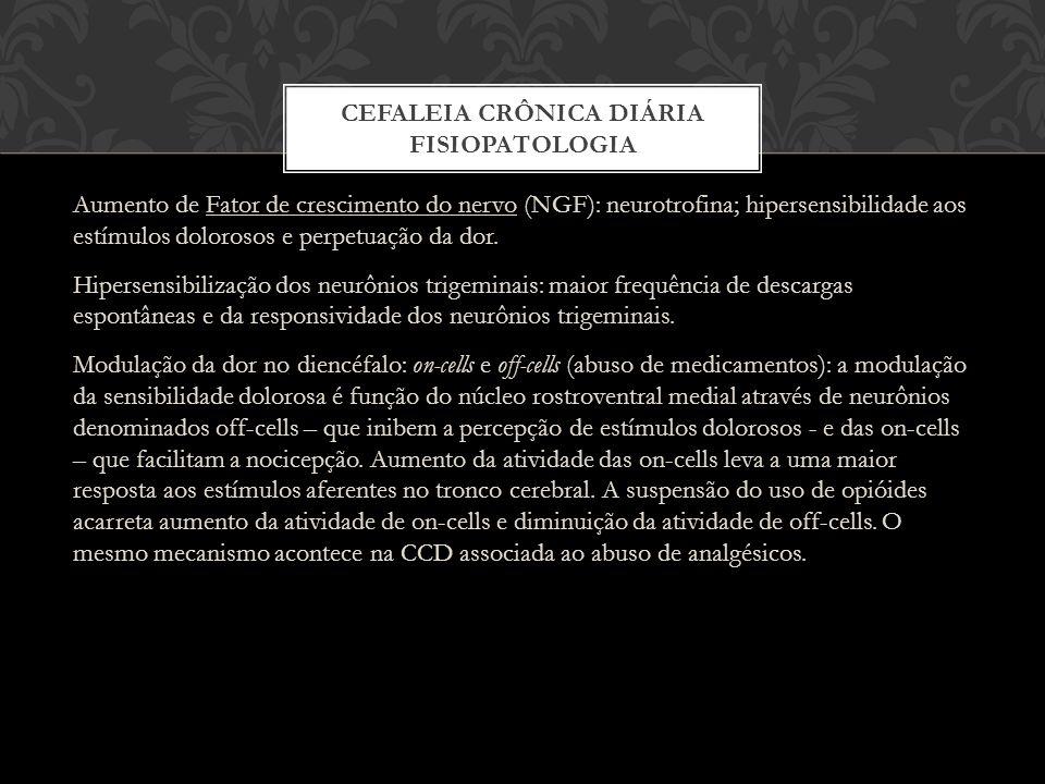 Cefaleia Crônica Diária Fisiopatologia