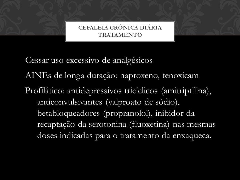 Cefaleia Crônica Diária Tratamento
