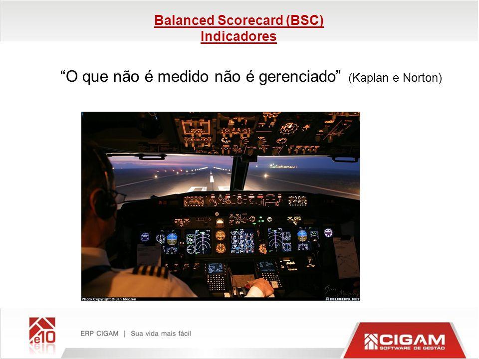 Balanced Scorecard (BSC) Indicadores
