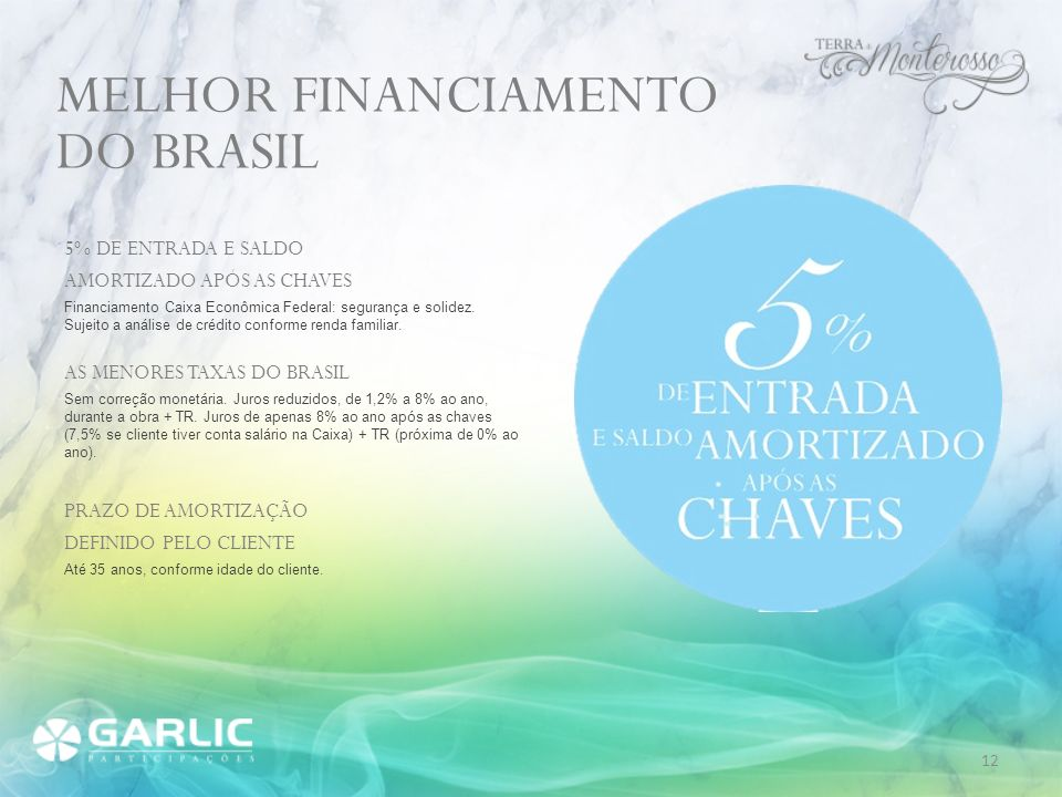 MELHOR FINANCIAMENTO DO BRASIL 5% DE ENTRADA E SALDO
