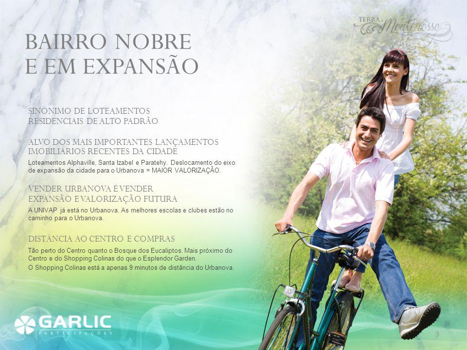 BAIRRO NOBRE E EM EXPANSÃO SINÔNIMO DE LOTEAMENTOS