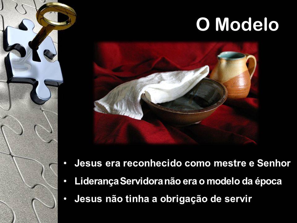 O Modelo Jesus era reconhecido como mestre e Senhor