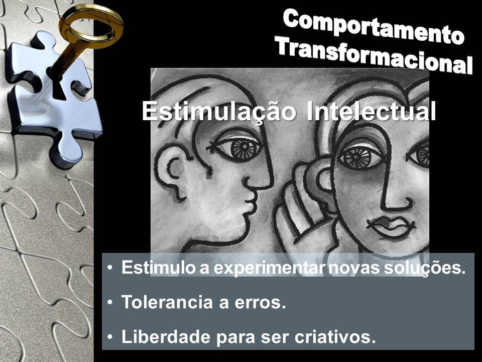 Comportamento Transformacional Estimulação Intelectual